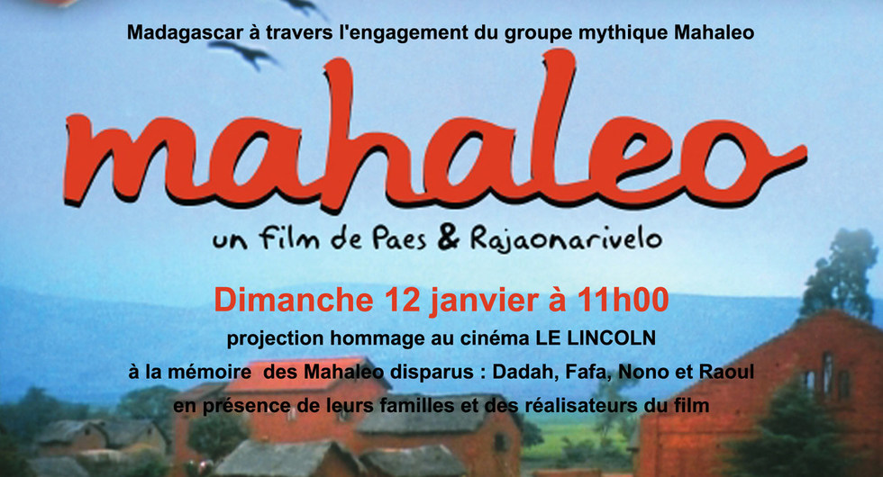 projection hommage Mahaleo au Lincoln